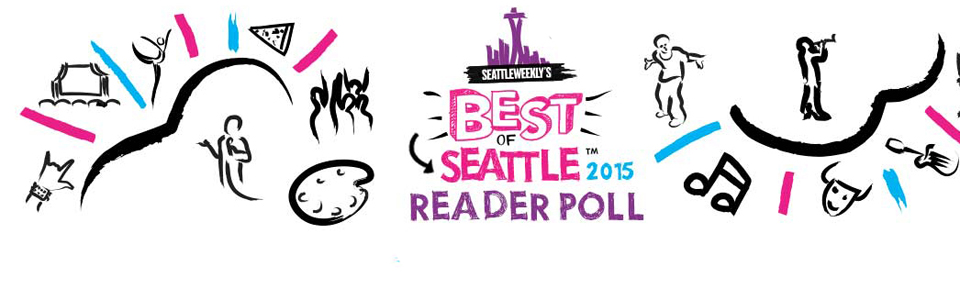We Won! Voted Best Gallery 2015 by Seattle Weekly Readers!